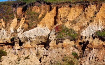 Big Sur Area Landslide and Water Paradox